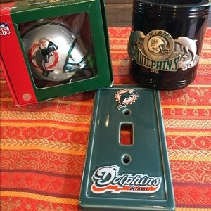 Vintage Miami Dolphins gift pack